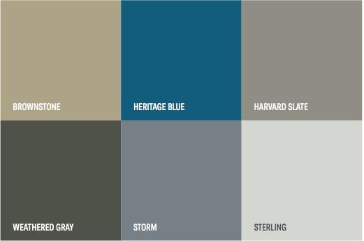 The 2018 Exterior Color Palette