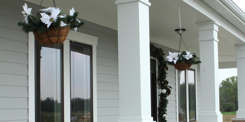 Royal®'s new 100% Cellular PVC Column Wraps