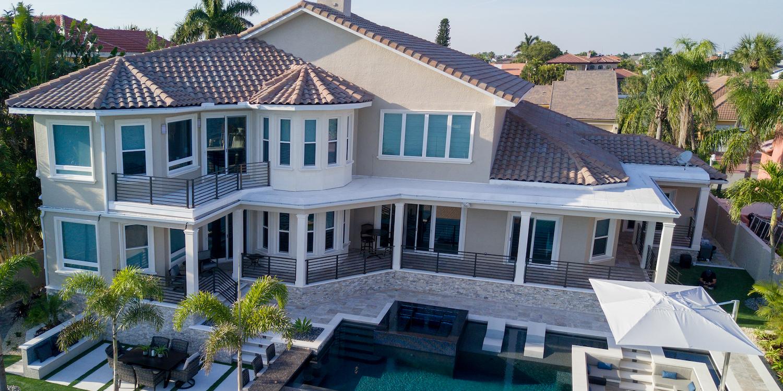 large house wrap around porch
