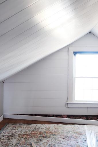 attic and attic window