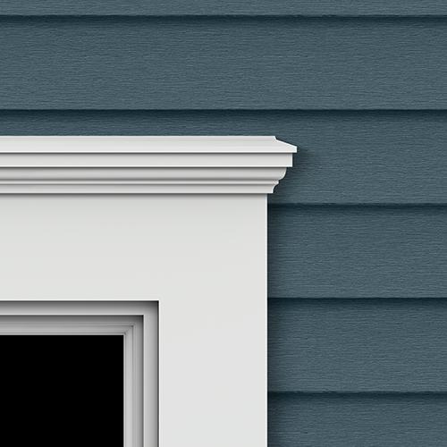 Window door trim for brag worthy windows doors royal - Exterior window trim vinyl siding ...