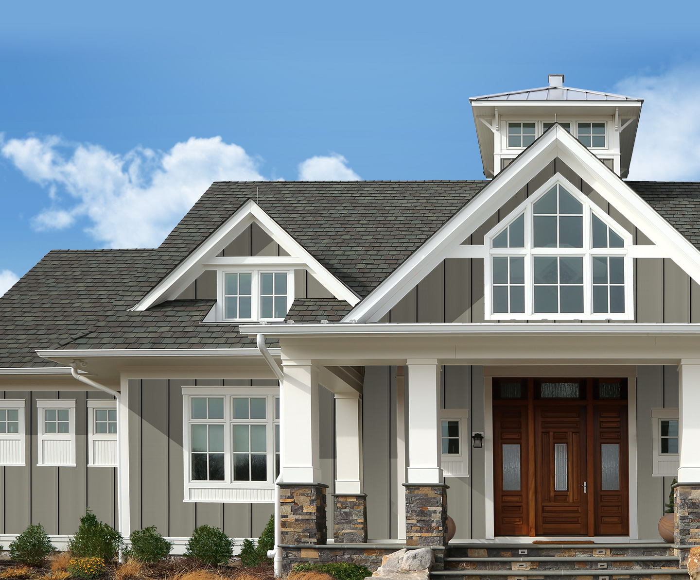 Wondrous Explore The Soaring Curb Appeal Of Vertical Siding Royal Download Free Architecture Designs Xerocsunscenecom