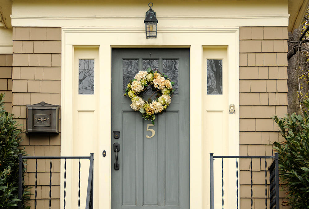 Statement metal house number - LiveAbode by Royal