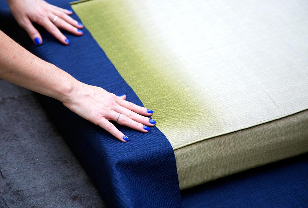 DIY weekend outdoor cushions